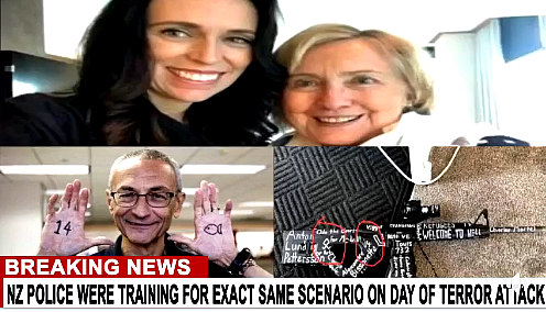 Ardern, Clinton, Podesta and gun