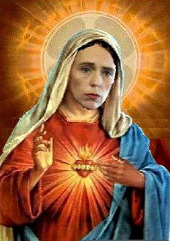 Jacinda as Jesus