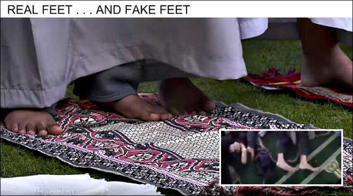Comparison of feet
