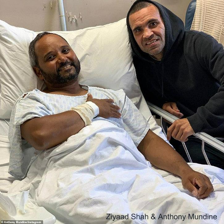 Ziyaad Shah and Anthony Mundine